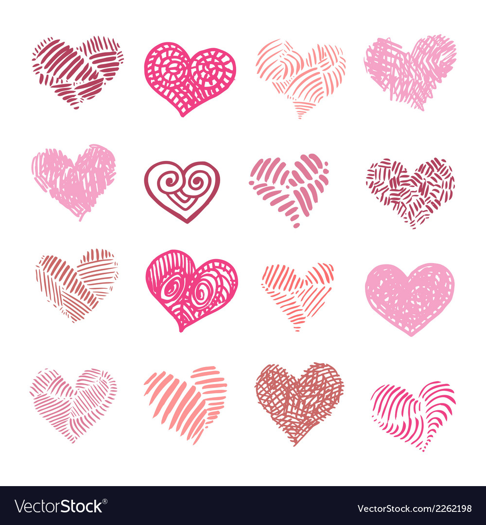 Love heart isolated vector | Price: 1 Credit (USD $1)