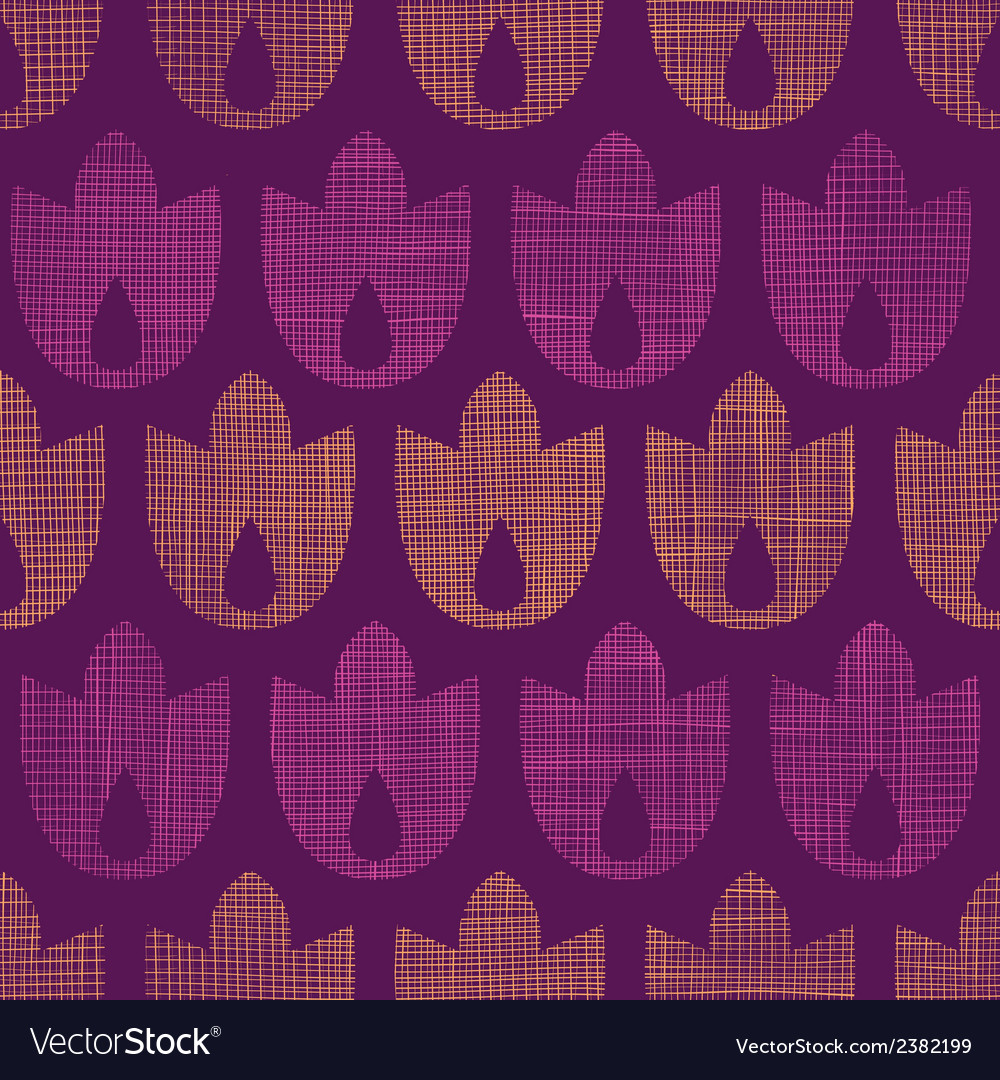 Abstract textile geometric tulips stripes seamless vector | Price: 1 Credit (USD $1)
