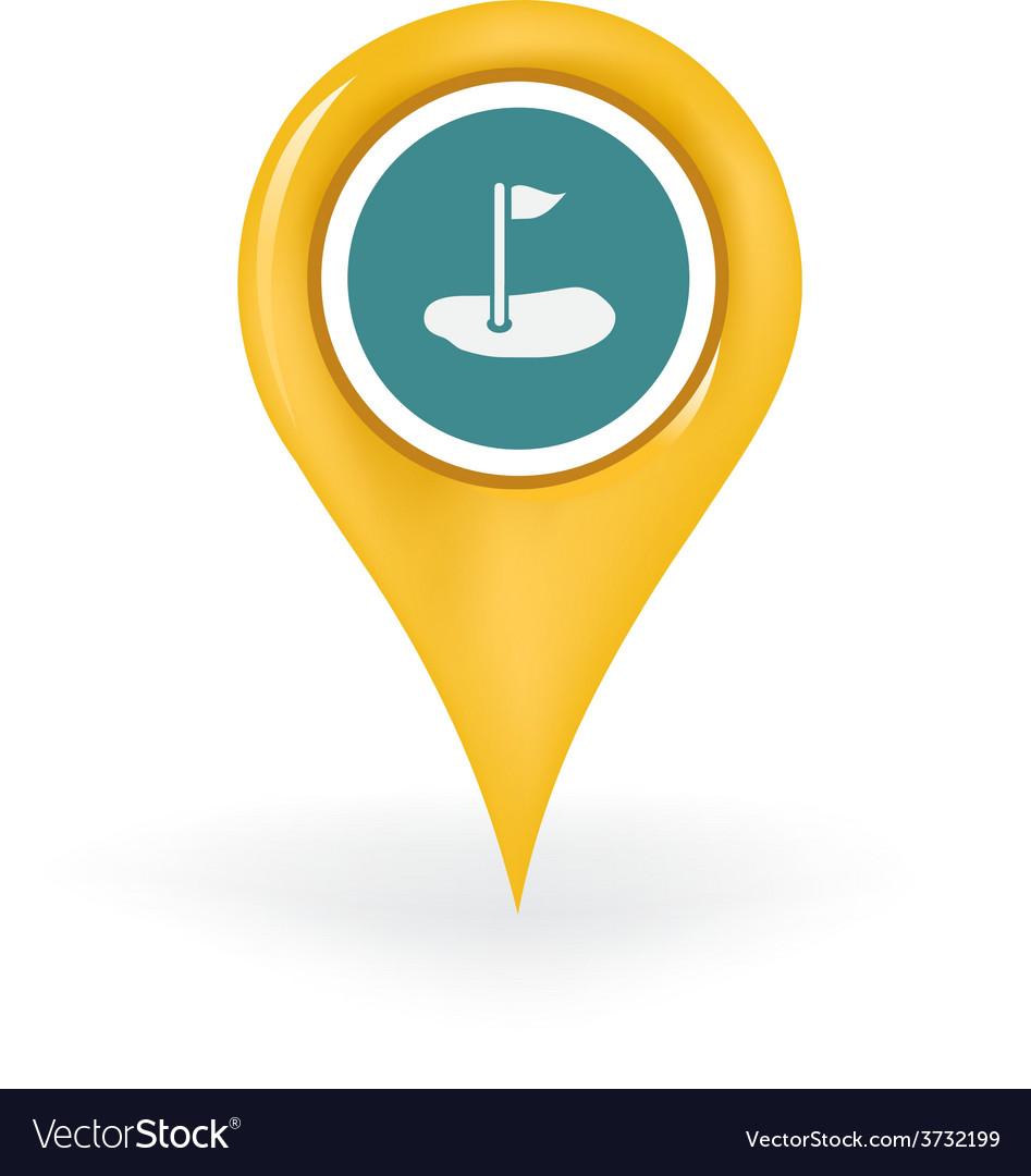 Golfing location vector   Price: 1 Credit (USD $1)