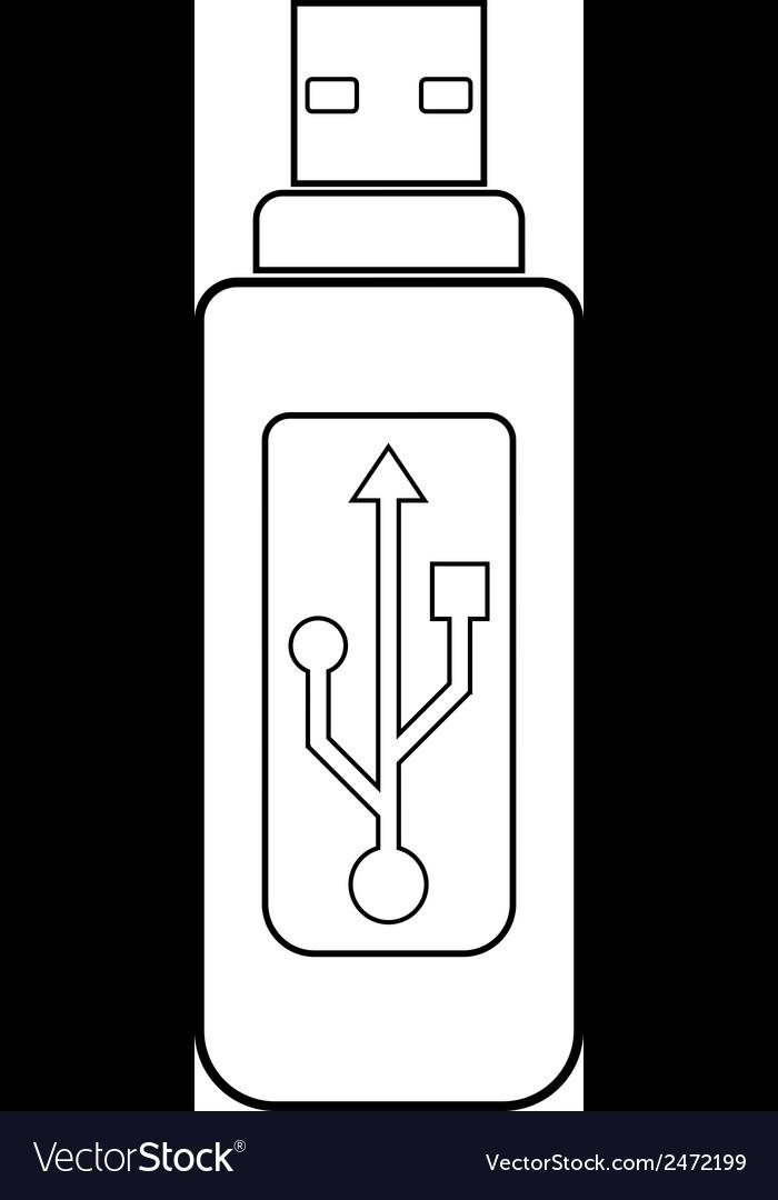 Usb flash drive vector   Price: 1 Credit (USD $1)