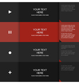 Inforgraphic template for your own design vector
