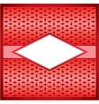 Rhombus frame vector