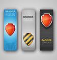 A set of modern banners vector