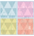 Diamond shaped pattern abstract  eps10 vector