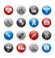 Medicine and heath care icons vector