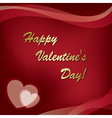 Card - happy valentines day vector
