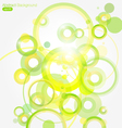 Green abstract colorful background vector