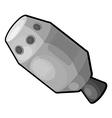 Cartoon spaceship eps10 vector