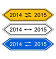 Signpost 2015 vector