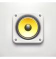 Sound loud speaker icon vector