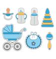Baby icon boy vector