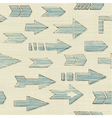 Various arrows vector