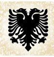 Simple eagle icon vector