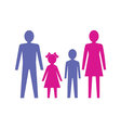 Family with children vector