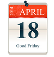 Good friday 2014 vector