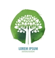 Tree logo icon sign emblem template vector