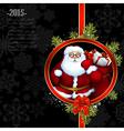 Santa christmas design vector