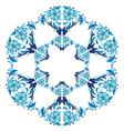 Blue ottoman serial patterns twenty five vector