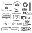 Collection of vintage retro and modern logo vector