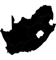 Black south africa vector