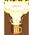 Beer festival background vector