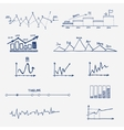 Graph chart business finance statistics vector