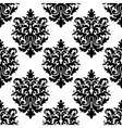 Decorative seamless floral pattern background vector