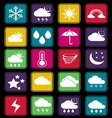 Weather effect icon basic vector