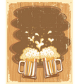 Beer background vector