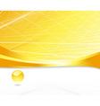 Golden abstract background vector