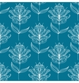 Seamless pattern with paisley floral motifs vector