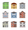 House and building set vector