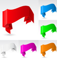 Wave banners set vector
