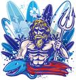 Poseidon surf vector
