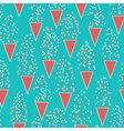 Cute seamless pattern with many small twigs vector