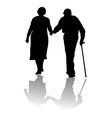 Old people vector