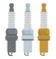 Spark plugs vector
