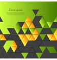 Abstract tech colorful background vector
