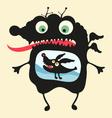 Happy monsters - set 14 vector