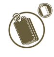 Tag retail theme simple single color icon isolated vector