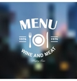 Menu logo vector