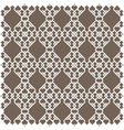 White pattern in islamic style vector