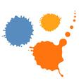 Splash blob vector