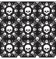 Skull pattern 1 vector