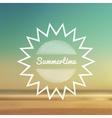 Summertime beach 2 vector