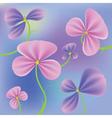 Fresh flowers vector