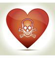 00217-heart-skull vector