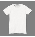White t shirt design template vector