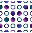 Geometric abstract watercolor pattern with vector