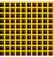 Black orange background vector